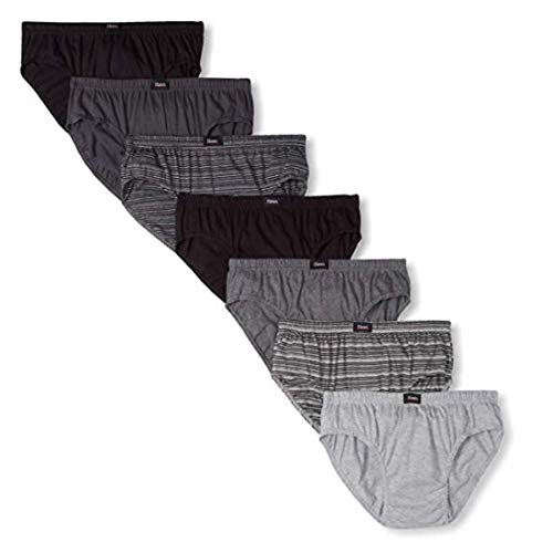Hanes Ultimate Men's 7-Pack Comfort Soft Sport Brief-Assorted Colors, Large ()