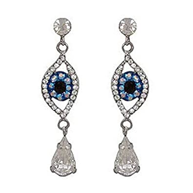 48d4f9107 Butler and Wilson Big Brother Crystal Eye Drop Earrings: Butler & Wilson:  Amazon.co.uk: Jewellery