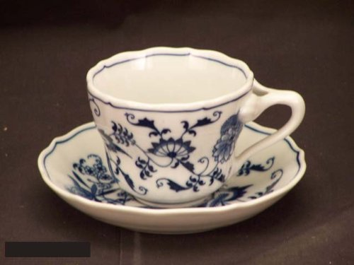 Japan Blue Danube Cups & Saucers (Blue Danube Blue Onion)