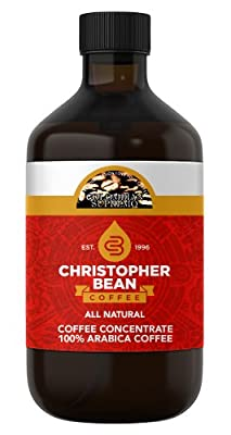 Colombian Cold Brew Decaf Liquid Coffee Concentrate 4 Ounce Bottle