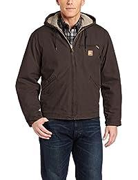 Men's Big & Tall Sherpa Lined Sandstone Sierra Jacket J141