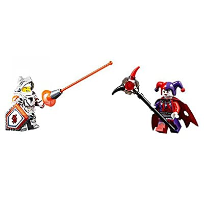 LEGO Minifigures - Nexo Knights (2 minifigures: Lance Richmond and Jestro). No Packaging.: Toys & Games