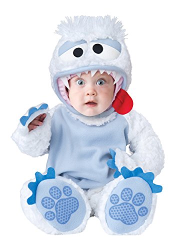InCharacter Baby's Abominable Snowbaby Costume, Blue/White, -