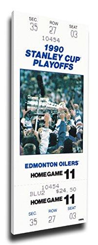 NHL Edmonton Oilers 1990 Stanley Cup Mega Ticket