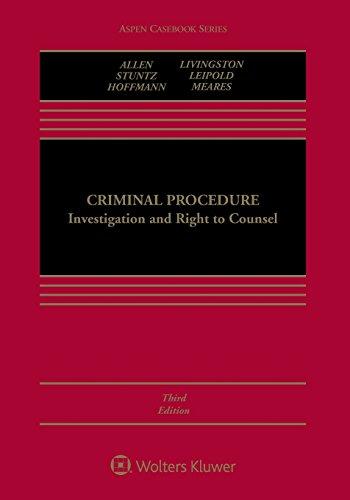 Criminal Procedure:Investigation...