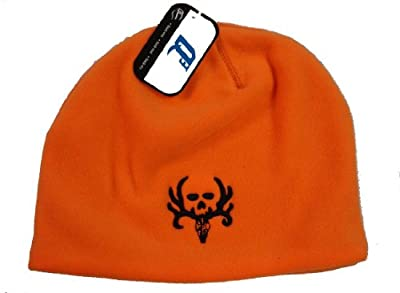 Bone Collector ~ Blaze Orange Beanie ~ Deer Hunting Hat Cap