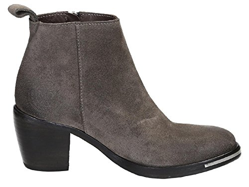 Catarina Martins Women's GA2504L140CAR Grey Suede Ankle Boots 0TP1rd1J3