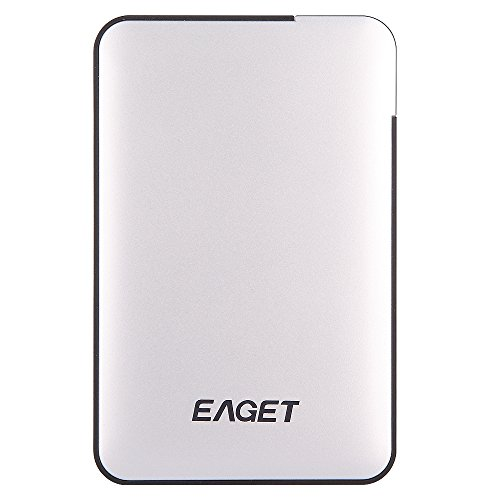 EAGET External Hard Drive 1TB High Speed USB 3.0 Portable Hard Drive 2.5 Inch Ultra Slim