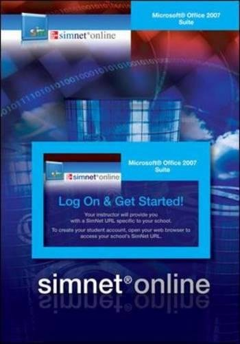 SimNet for Office 2007 Office Suite Registration Card