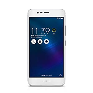 ASUS ZenFone 3 MAX 5.2-inch Glacier Silver 16GB Smartphone [ZC520TL] 13MP Rear / 5MP Front camera, IPS HD display, 4100 mAh battery