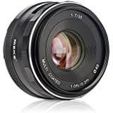 Meike MK-35mm F/1.7 Large Aperture Fixed Manual Focus Lens work for fujifilm mirrorless cameras FX mount xt1 Xpro1 xt2 xpro2 XT2