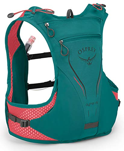 Osprey Packs Dyna 1.5L Women's Running Hydration Vest, Reef Teal, WS/Medium