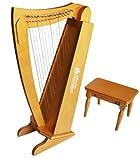 Schoenhut C1019C - 15 String Cherry Harp (Cherry)