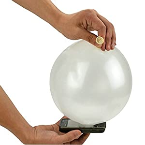 Lanlan Close-Up Magic Trick Phone Coin into Balloon Penetration In a Flash Magic Street Trick- 10pcs