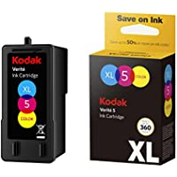 Kodak Verite 5 Replacement Inks (ALT1CA) XL Color Ink Jet Cartridge compatible with Kodak Verite Printers V50, V55, V55W Eco, V55 Plus, V60 Eco, V640 Eco, V64 Series, V65 Eco, V65 Plus
