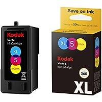 Kodak Verite 5 Replacement Inks (ALT1CA) XL Color Ink Jet Cartridge compatible with Kodak Verite Printers V50, V55, V55W Eco, V55 Plus, V60 Eco, V640 Eco, V64 Series, V65 Eco, V65 Plus