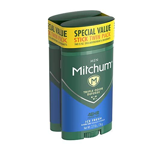 Mitchum Men Antiperspirant & Deodorant Stick Twin Pack, 2.70Oz. By Mitchum
