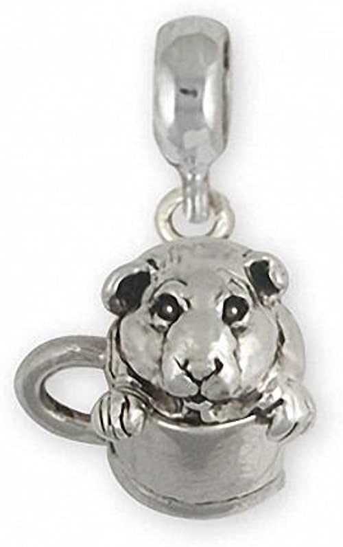 Guinea Pig Ring Jewelry Sterling Silver Handmade Piggie Ring GP3-CR