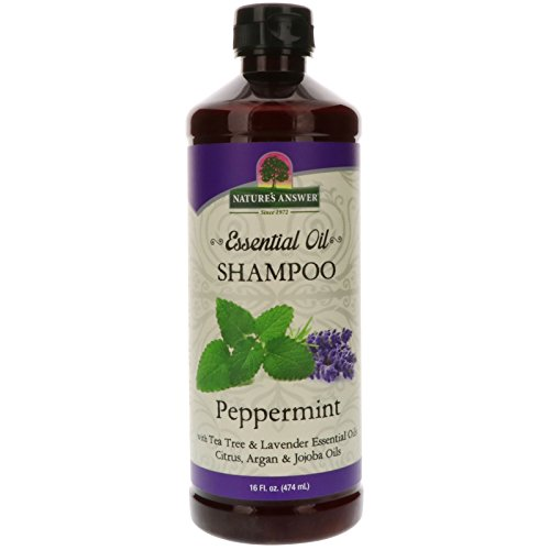 - Nature's Answer Essential Oil Shampoo, Peppermint, 16-Ounce