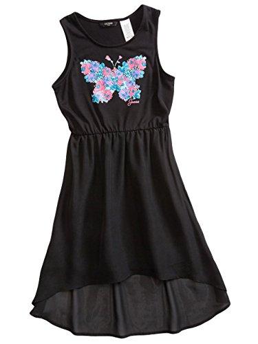 GUESS Kids Big Girl Butterfly High-Low Dress (7-16)