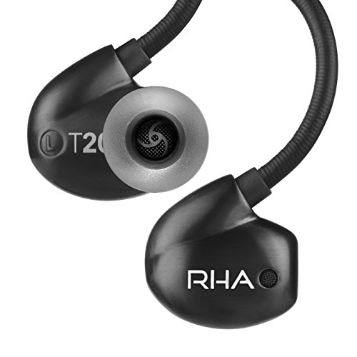 41HzcpvQm1L - RHA T20i in-Ear Monitors (Gen. 2): HiFi Noise Isolating Stainless Steel in-Ear Headphones with Remote & Mic