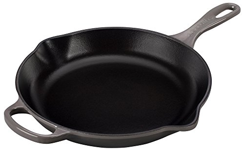 Le Creuset Signature Iron Handle Skillet, 10-1/4-Inch, Oyste