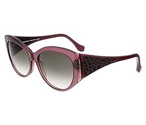 Sunglasses Balenciaga BA 23 BA0023 81B shiny violet / gradient smoke