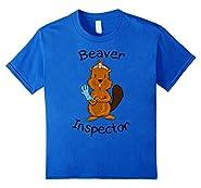 Inspector Beaver Tail Shirt Funny Tees For Men Beaver Shirt