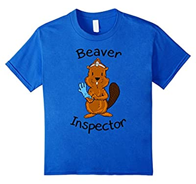 Inspector Beaver Tail Shirt Funny Tees For Men Beaver Shirt
