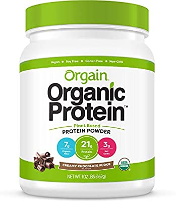 Orgain Organic Plant Protein Powder Chocolate 1.02lbs: Amazon.sg ...