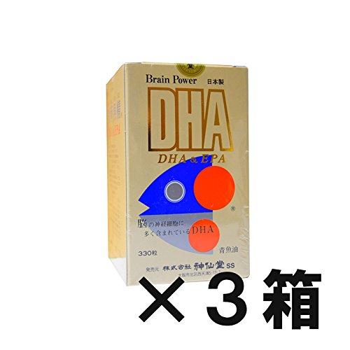 神仙堂 青背魚精 DHA&EPA 330粒 精製魚油加工食品 (3) B07CJVDYDJ