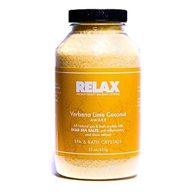 His and Hers 100% Natural Bath Salt with Epsom Salt, Dead Sea Salt, Vitamins, and Minerals