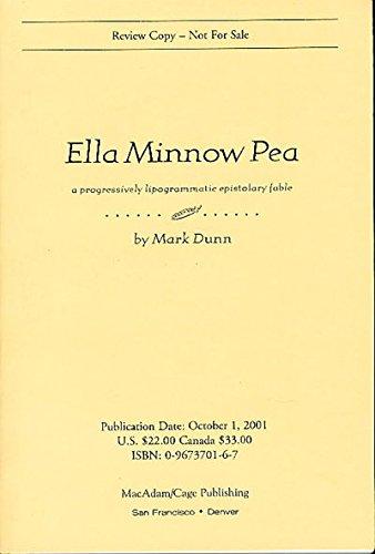 Ella Minnow Pea Progressively Lipogrammatic product image