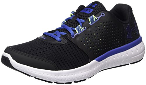 Under Armour Womens Micro G Fuel RN Black/White/Periwinkle 1ac6tH