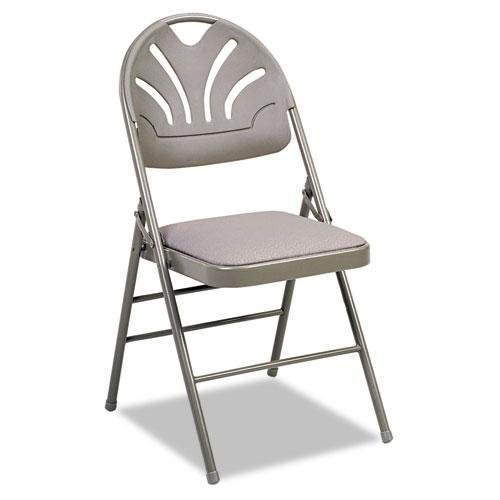 Cosco Fabric Folding Chair Black 4 Pack