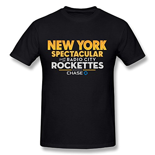 Hot Sale NY Christmas Spectacular Starring The Radio City Rockettes 2016 T Shirt For Men (Spectacular Christmas Ny)