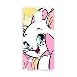 HDSAO Cute Pink Cat Design Best Seller High Quality Phone Case For Samsung Galacxy Note 4
