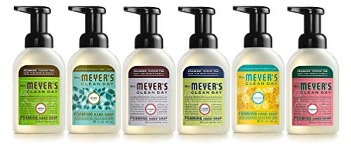 Mrs. Meyers Mrs. Meyer's Clean Day 6-piece Foaming Hand Soap Variety Pack (10 Oz Each), 5 Pound (Foam Hand Soaps)