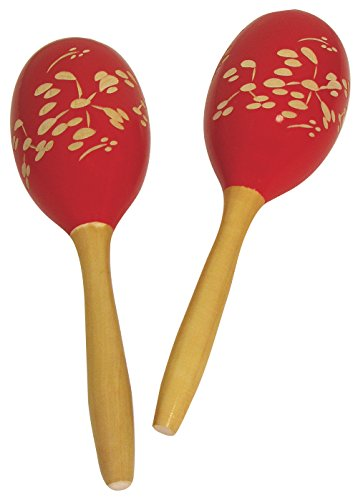 (Performance Plus Large Puerto Rican Style Tapered Handle Maracas (MRC1))