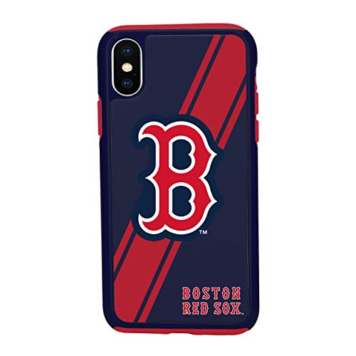 iPhone Xs MAX Impact Series Dual Layered Protective Case for MLB Boston Red Sox ()