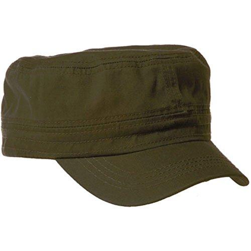 Green Military Cap - 4