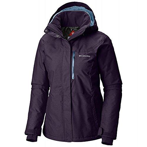 Columbia Alpine Action Oh Plus Size Jacket, 1X, Dark Plum