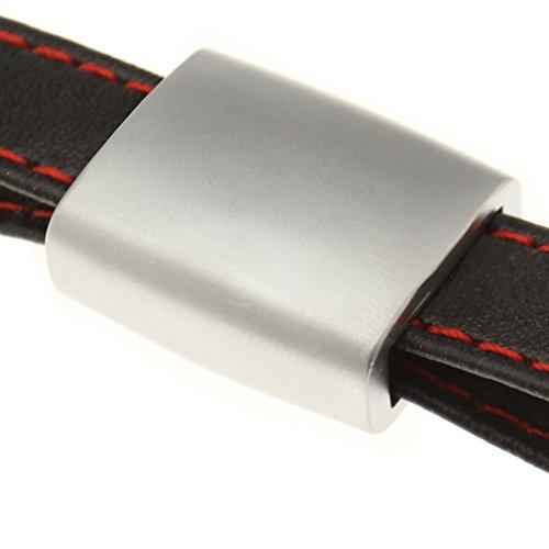 Porte-clés Audi S line en cuir pour A1 A3 A4 A5 A6 A8 Q7 TT chaîne ... 7f63551203e