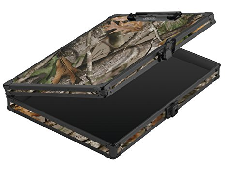 Vaultz Locking Storage Clipboard, Letter Size, Key Lock, Next Camo (VZ03462)