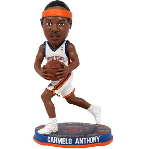 - NBA New York Knicks Anthony C. #7 2012 Home Basketball Base Bobble