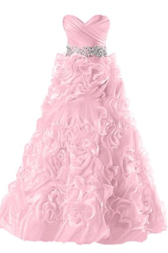 abiti elegante da Rosa Sunvary sera Gowns Ruffles Sweetheart Pageant fqdUwIB
