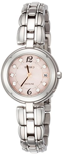 SEIKO EXCELINE titanium Solar Radio SWCW123 Ladies(Japan Import-No Warranty)
