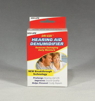 SPECIAL PACK OF 3-Dri-Eze Hearing Aid Dehumidifier