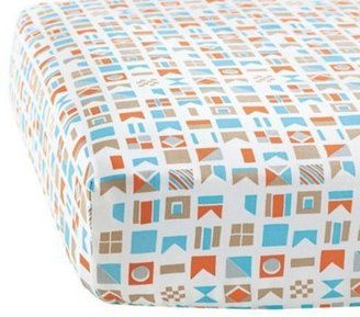 - Serena and Lily Nautical Flag Crib Sheet