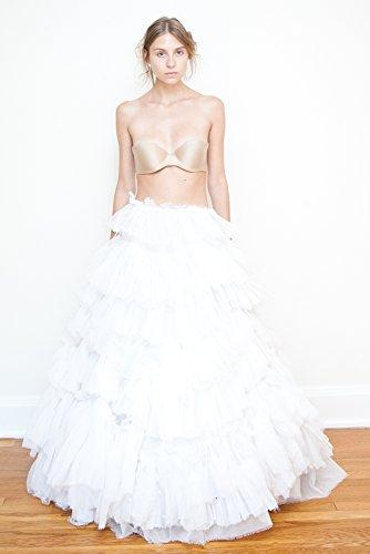 Bridal Separates Pleated Silk Chiffon Ball Gown Skirt